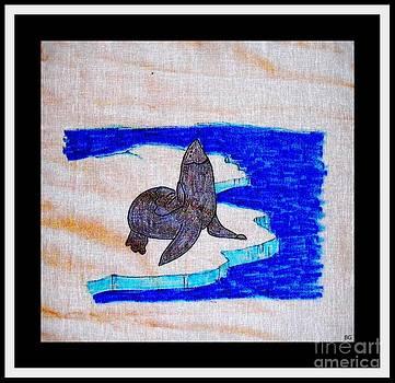 Barbara Griffin - Harp Seal on Ice