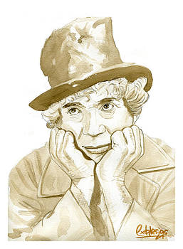 Harpo Marx by David Iglesias