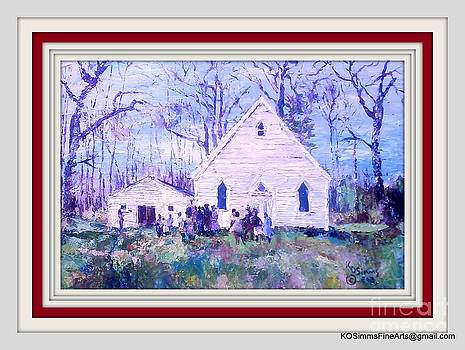 Harriet Tubman's Family Church by Keith OBrien Simms