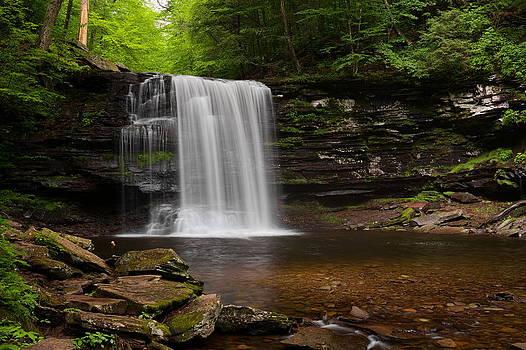 Harrison Wright Falls by Tim Devine