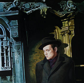 Harry Lime - Orson Welles by Jo King