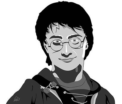 Harry Potter Daniel Radcliffe by Paul Dunkel