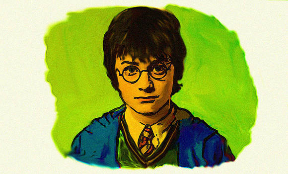 Harry Potter Painting by Parvez Sayed