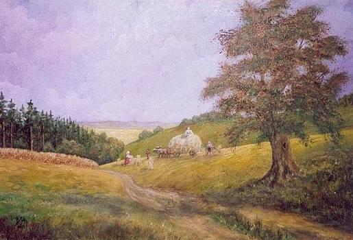 Harvest season by Birgit Schnapp