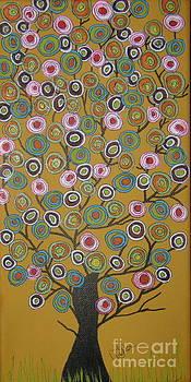 Harvest Tree by Marcia Weller-Wenbert