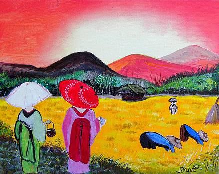 Harvesting by Anna Baker