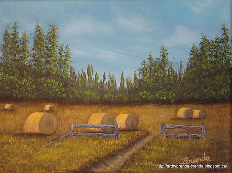 Harvests End 2 by Brenda Maas