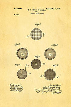 Ian Monk - Haskell Wound Golf Ball Patent 1899