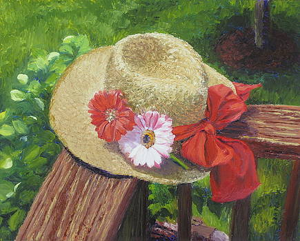 Lea Novak - Hat with Flowers