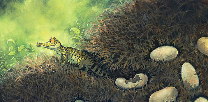 Hatching Day by Jaimie Whitbread