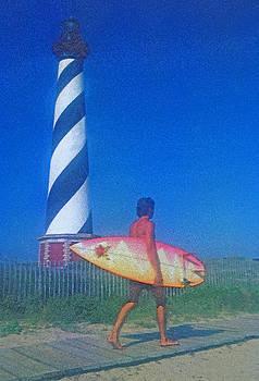 Dennis Cox - Hatteras surfer