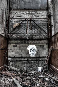 Haunted Graffiti  by Joshua Ball