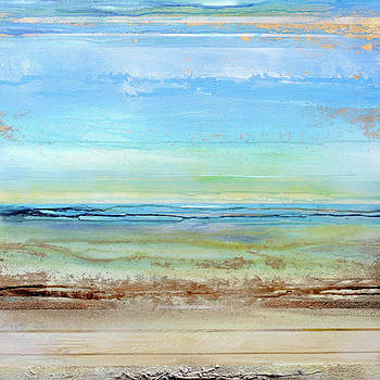 Hauxley Haven Low Tide Rhythms and textures 1c by Mike   Bell