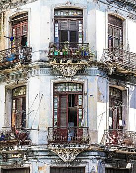 Havana Balconies by Jim Nelson