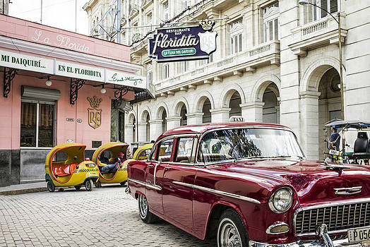 Havana Cuba Classic Car by Tina Manley
