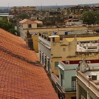 Havana rooftops by John Kearns