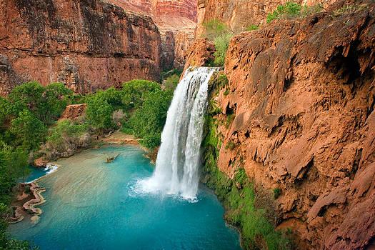 Havasu Falls Arizona by Reed Rahn