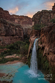 Jim McCain - Havasu Falls Evening Glow