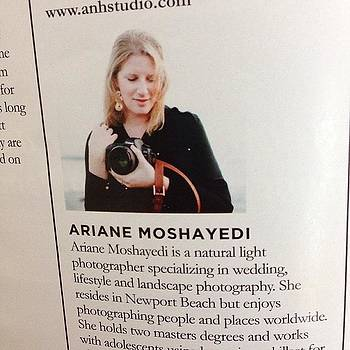 Have Some Work In This Month's by Ariane Moshayedi