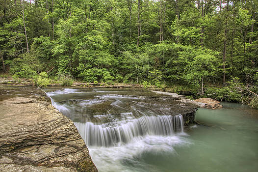 Jason Politte - Haw Creek Falls from the Bluff - Ozarks - Arkansas