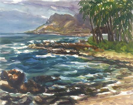 Hawaii-Oahu Paradise Cove by Ron Libbrecht