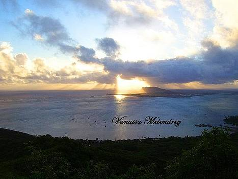 Hawaii Sunrise 2 by Vanassa Melendrez