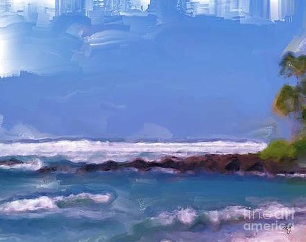 Ruby Cross - Hawaii Surf