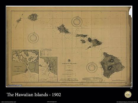 Hawaiian Islands - 1902 by Adelaide Images
