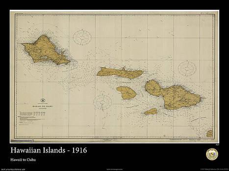 Hawaiian Islands - 1916 by Adelaide Images