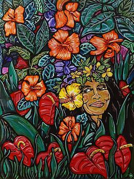 Hawaiian Lady by Thome Designs