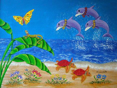 Hawaiian Lei Day by Pamela Allegretto