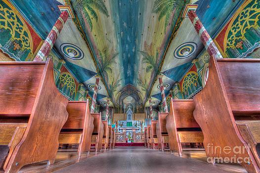 Hawaiian Painted Church   by Bruce Smalley