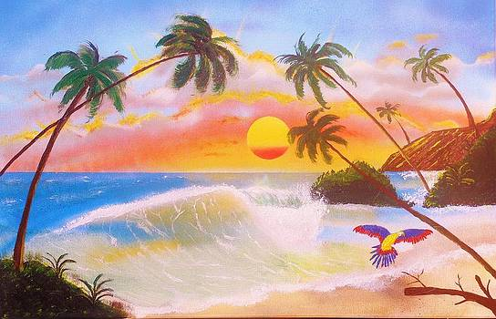 Hawaiian Paradise by Amy LeVine