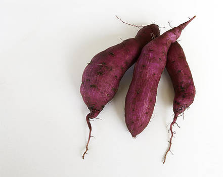 Hawaiian Purple Sweet Potatos by Denise Bird