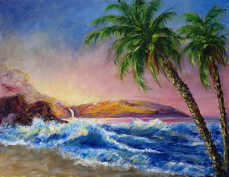 Hawaiian Setting Sun by Thomas Restifo
