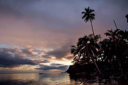Hawaiian sunset by Esther Branderhorst