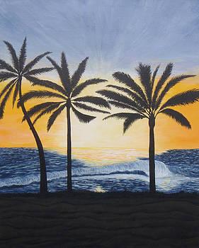 Hawaiin Sunset by Brandy Gerber