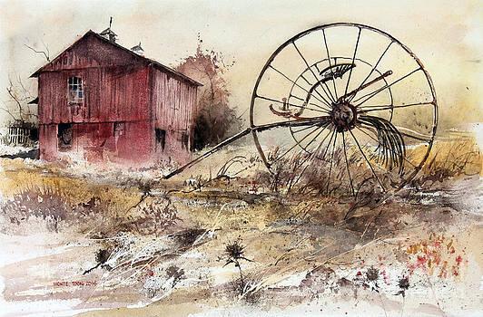 Hay Rake by Monte Toon