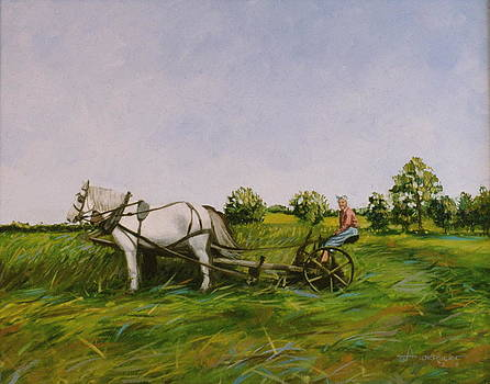 Haying With Horses by Sherri Anderson