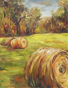 Haystacks by Brandi  Hickman