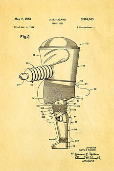 Ian Monk - Hazard Space Suit Patent Art 2 1968