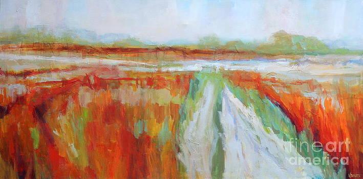 Haze on the Marsh by Virginia Dauth