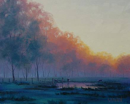 Hazy Sunrise by Graham Gercken