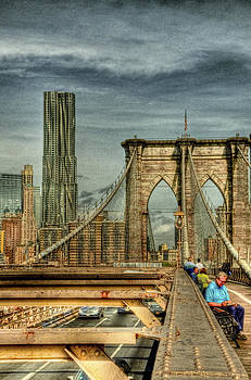 HDR Brooklyn Bridge by Mike Berry