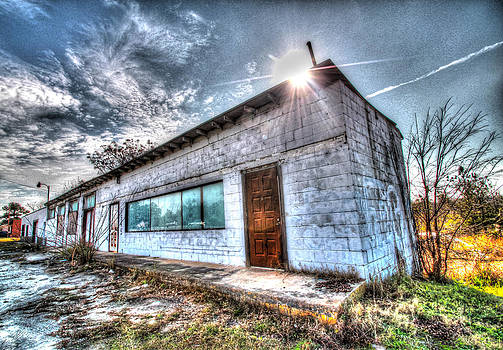 HDR Forgotten Commerce by Donna Vasquez