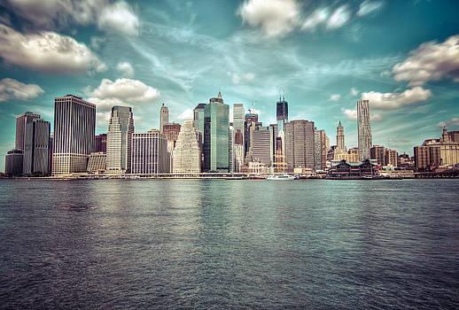 HDR - New York - manhattan I by Amador Esquiu Marques