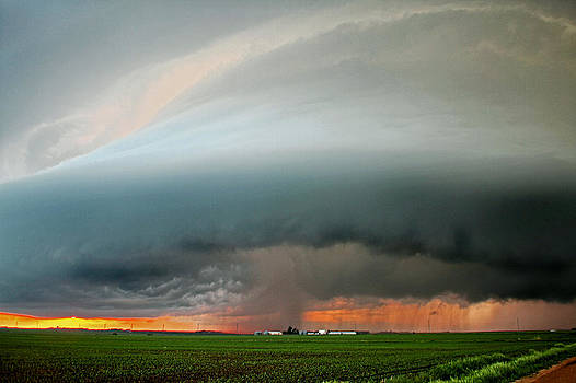 HDR Supercell 2 by Steve  Yezek