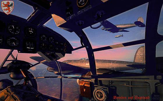 He-111 Kampfgeschwader 55 Greif - Bomben auf Engeland by Vladimir Kamsky