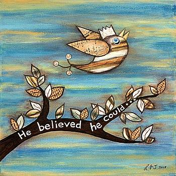 He Believed He Could by Lisa Frances Judd