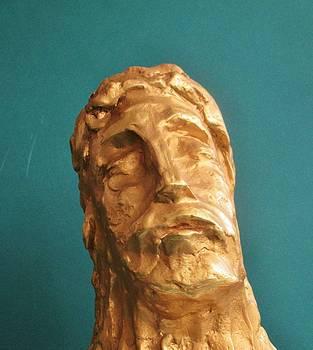 Head of Christ 2014 by Karl Leonhardtsberger